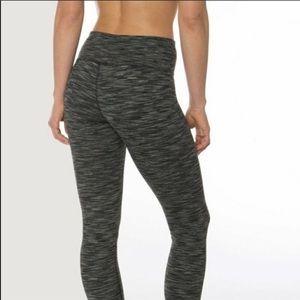 ATHLETA charcoal grey high rise leggings/pants